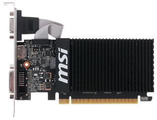 Видеокарта MSI GeForce GT 710 Silent LP [GT 710 1GD3H LP]