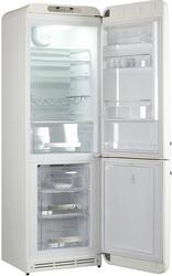 Холодильник с морозильником Smeg FAB32RBN1 белый