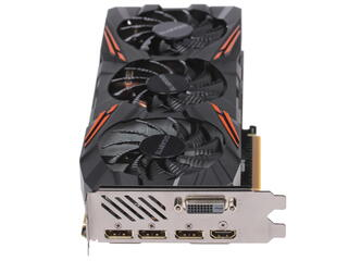 Видеокарта GIGABYTE GeForce GTX 1080 G1 GAMING [GV-N1080G1 GAMING-8GD]