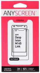 """4.5""""  Пленка защитная для смартфона Dexp Ixion M145 Link"""