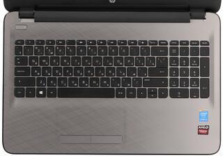 """15.6"""" Ноутбук HP 15-ac011ur черный"""