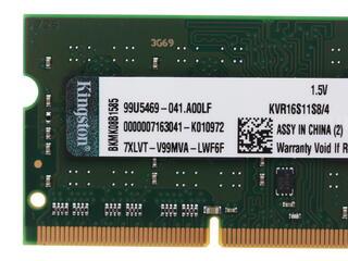Оперативная память SODIMM Кingston [KVR16S11S8/4] 4 Гб