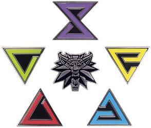 Значки The Witcher 3 Wild Hunt Enamel Pin Set