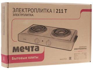Плитка электрическая Мечта 211Т черный