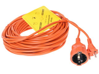 Удлинитель Power Cube PC-E1-B-20 оранжевый