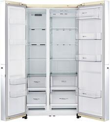 Холодильник LG GC-B247SEUV бежевый