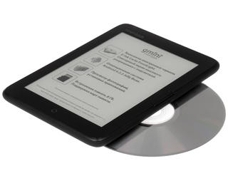 6'' Электронная книга gmini MagicBook Q6LHD черный + чехол
