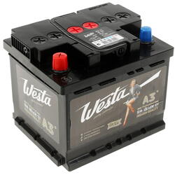 Автомобильный аккумулятор Westa 6ст-50 VL