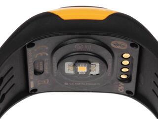 Спортивные часы Mio ALPHA 2 Yellow Large черный