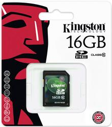 Карта памяти Kingston SD10V/16GB SDHC 16 Гб