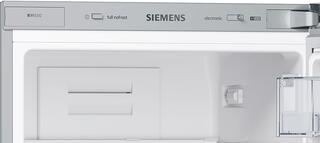 Холодильник с морозильником SIEMENS KG39NXW15R серый