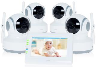 Видеоняня Ramili Baby RV900X4 белый