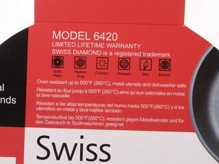 Сковорода Swiss Diamond 6-420 серый