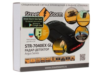 Радар-детектор Street Storm STR-7040EX GL