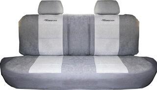 Чехлы на сиденье AUTOPROFI TRANSFORM MPV-004 серый