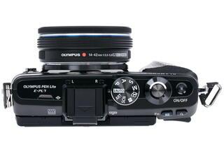 Камера со сменной оптикой Olympus PEN E-PL7 Pancake kit 14-42mm EZ