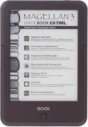 6'' Электронная книга ONYX Boox C67ML Magellan 3 черный
