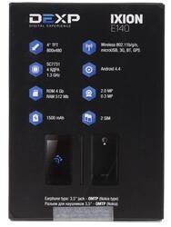 "4"" Смартфон DEXP Ixion E140 Strike 4 ГБ белый"