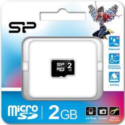 Карта памяти Silicon Power microSD 2 Гб