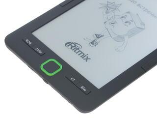 6'' Электронная книга Ritmix RBK-615 черный
