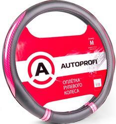 Оплетка на руль AUTOPROFI AP-1412 черный