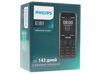 Сотовый телефон Philips Xenium E181 черный