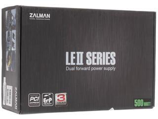 Блок питания Zalman LE2 500W [ZM500-LE2]