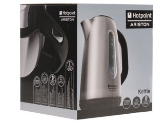 Электрочайник Hotpoint-ariston WK 22M DSL0 серый