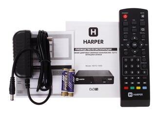 Приставка для цифрового ТВ HARPER HDT2-1005