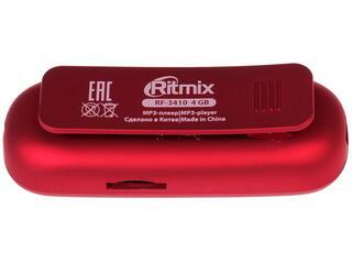 MP3 плеер RITMIX RF-3410 красный