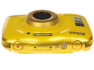 Компактная камера Nikon Coolpix W100 желтый