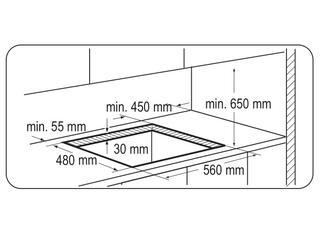 Газовая варочная поверхность Zanussi ZGG66424XA