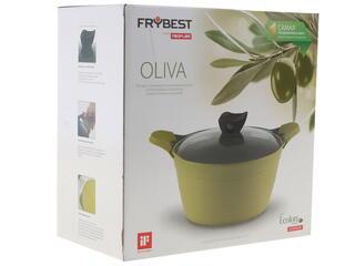 Кастрюля Frybest Oliva-C24I Oliva зеленый