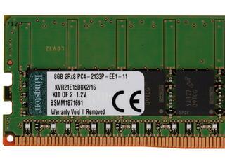 Оперативная память Kingston ValueRAM [KVR21E15D8K2/16] 16 ГБ