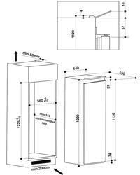 Холодильник без морозильника WHIRLPOOL ARG 752/A+