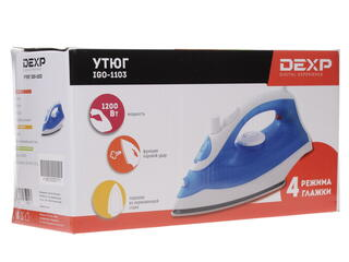 Утюг DEXP IGO-1103 синий