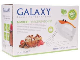 Миксер Galaxy GL 2205 белый