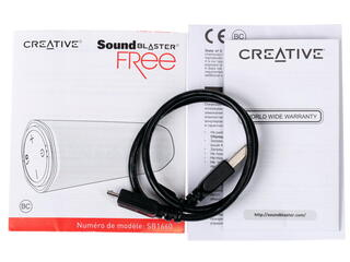 Портативная аудиосистема Creative Sound Blaster FRee