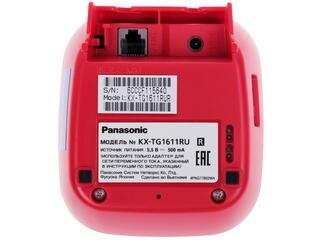 Телефон беспроводной (DECT) Panasonic KX-TG1611RUR