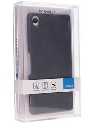 Накладка + защитная пленка  Deppa для смартфона Sony Xperia Z3