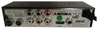 Приставка для цифрового ТВ ELECT EDR-7820