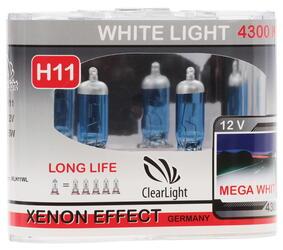 Галогеновая лампа ClearLight H11 WhiteLight
