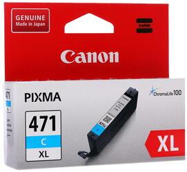 Картридж струйный Canon CLI-471C XL