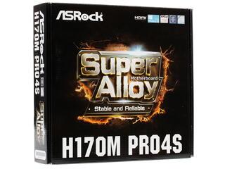 Материнская плата ASRock H170M PRO4S