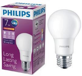 Лампа светодиодная Philips LEDBulb 7-60W E27 3000K 230VA60/PF