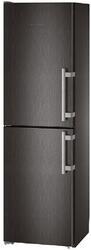Холодильник с морозильником Liebherr CNbs 3915-20 черный