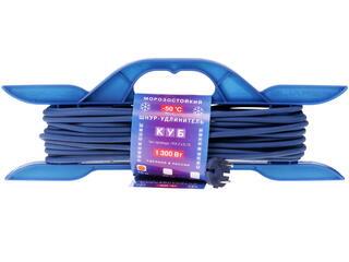 Удлинитель Power Cube PC-E1-F-10-R синий