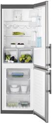 Холодильник с морозильником ELECTROLUX EN93452JX серебристый