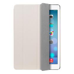 Чехол-подставка Ultra Cover leather и защитная пленка для Apple iPad AIR, белый , Deppa