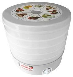 Сушилка для овощей и фруктов Дачница СШ-008 белый, бежевый